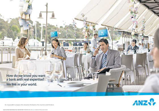 ANZ Bank | Toby Burrows