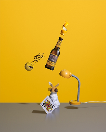 White Rabbit | Michael Corridore | Advertising Styling | Jo Ayling